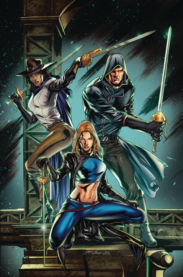 Musketeers #5 (Vitorino Cover)