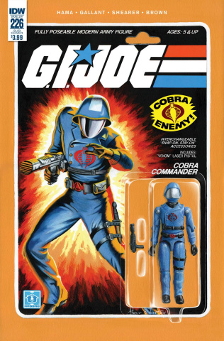 G.I. Joe: A Real American Hero #226 (Subscription Cover)
