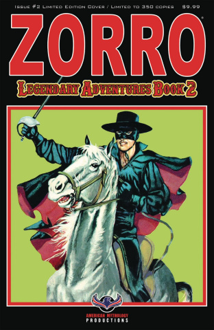 Zorro: Legendary Adventures #2 (Blazing Blades Cover)