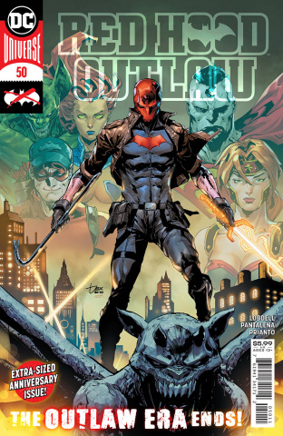 Red Hood: Outlaw #50 (Dexter Soy Cover)
