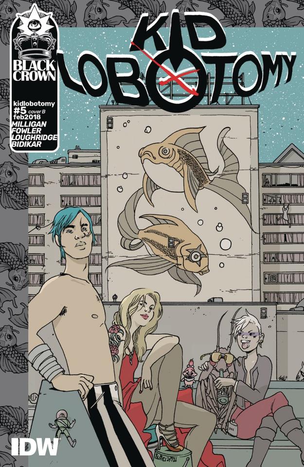 Kid Lobotomy #5 (Graham Cover)