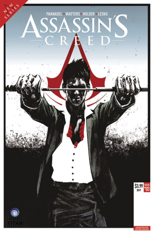 Assassin's Creed: Uprising #3 (Olimpieri Cover)