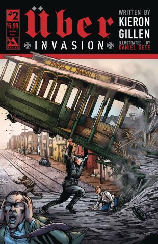 Über: Invasion #2 (Homage Cover)