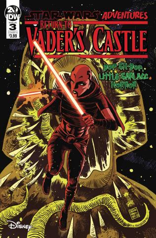 Star Wars Adventures: Return to Vader's Castle #3 (Francavilla Cover)