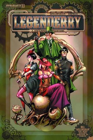 Legenderry: A Steampunk Adventure #1
