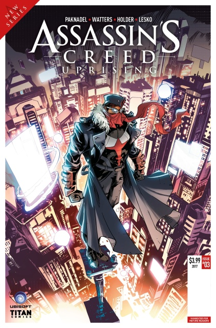Assassin's Creed: Uprising #3 (Holder Cover)