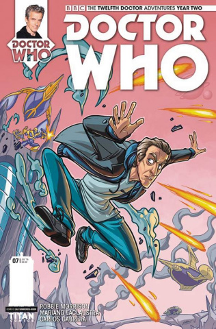 Doctor Who: New Adventures with the Twelfth Doctor, Year Two #7 (Simmonds Hurn Cover)