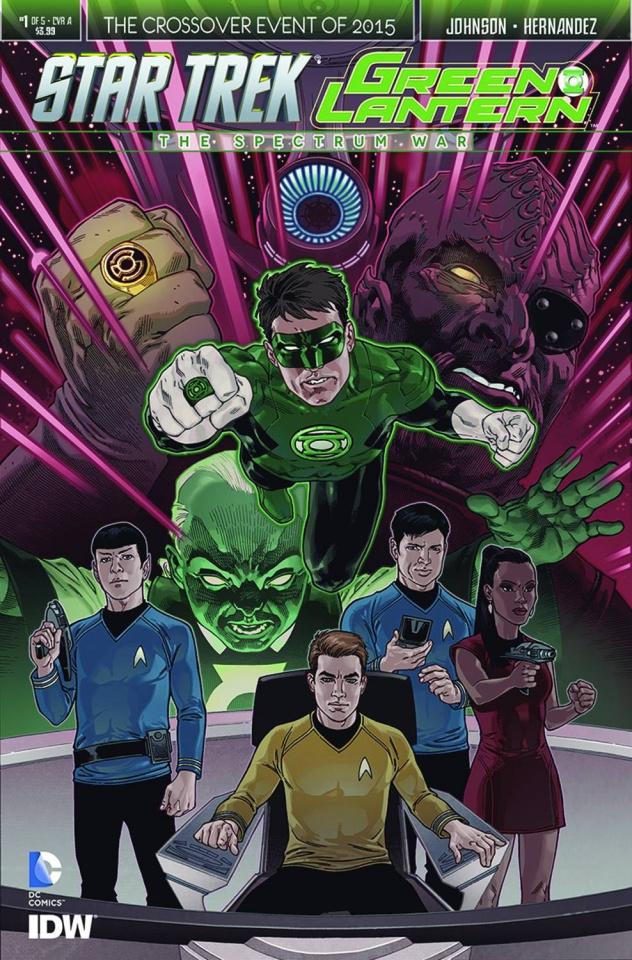 Star Trek / Green Lantern #1 (2nd Printing)