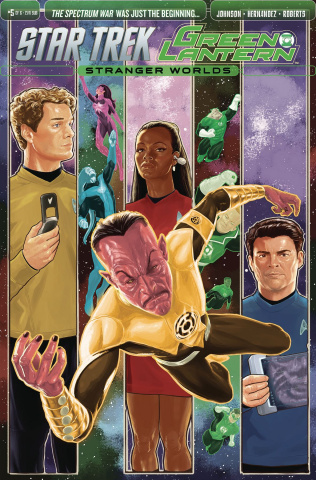 Star Trek / Green Lantern #5 (Subscription Cover)