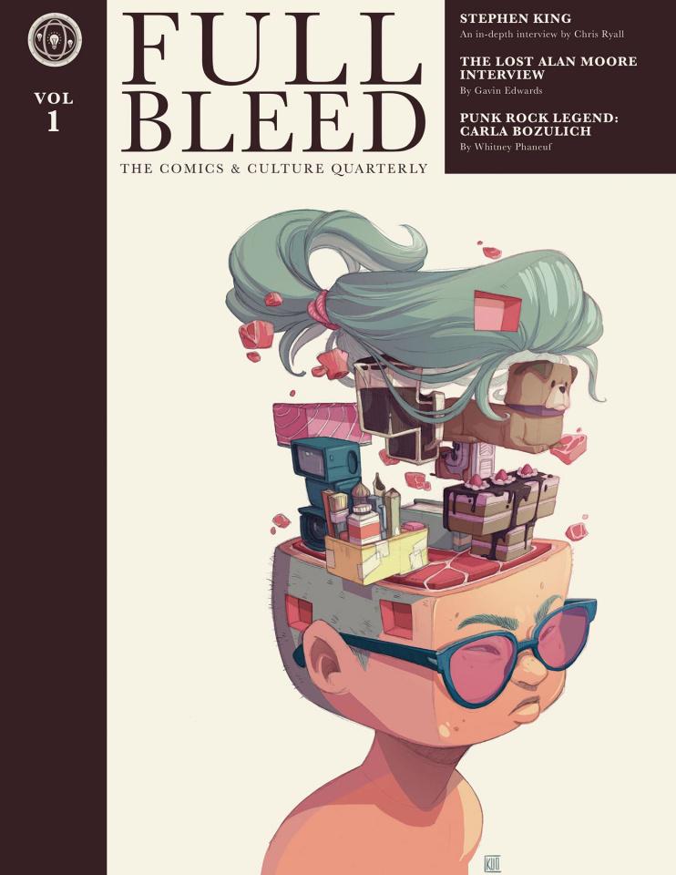 Full Bleed: The Comics & Culture Quarterly Vol. 1