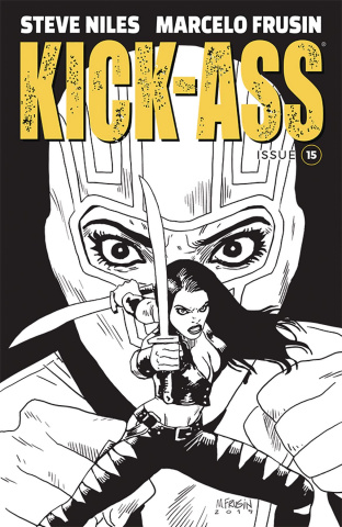 Kick-Ass #15 (Frusin Cover)