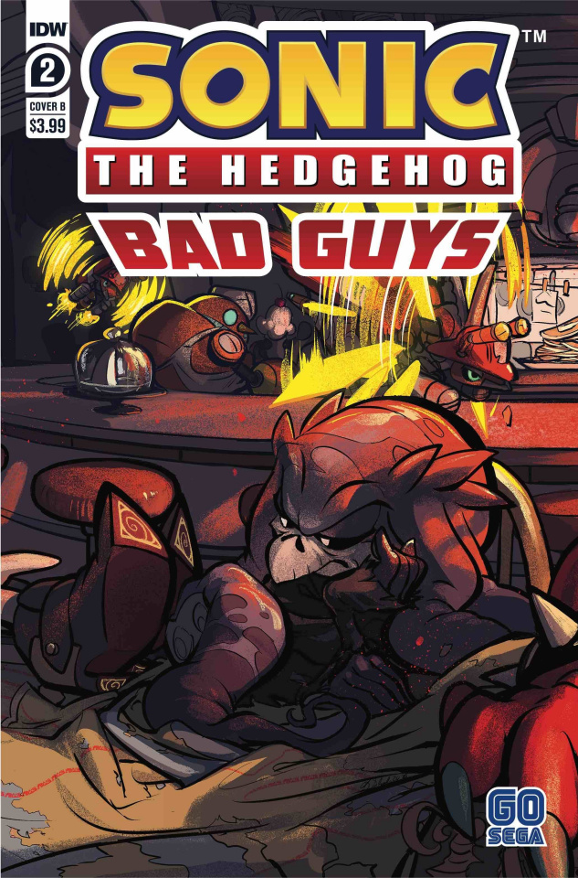 Sonic the Hedgehog: Bad Guys #2 (Skelly Cover)