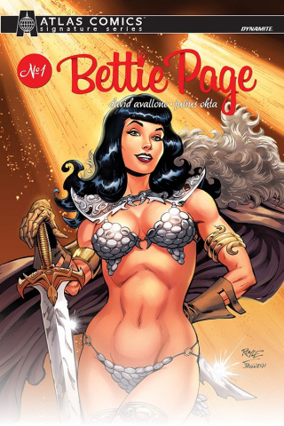 Bettie Page: Unbound #1 (Atlas Avallone Signed Edition)