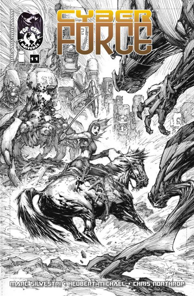 Cyber Force #11 (25 Copy Cover)