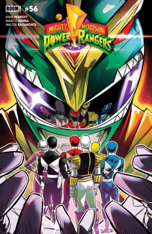 Mighty Morphin' #1 (Carlini Legacy Cover)