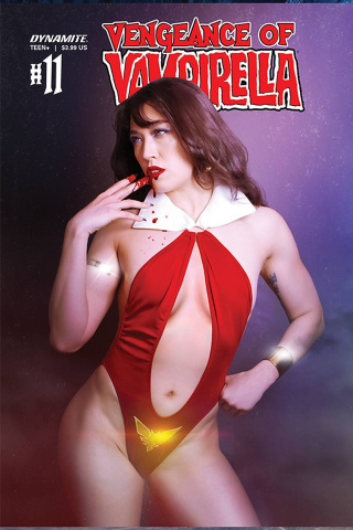 Vengeance of Vampirella #11 (Lee Cosplay Cover)