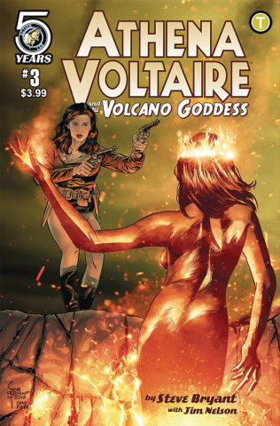 Athena Voltaire and the Volcano Goddess #3 (Bryant Cover)
