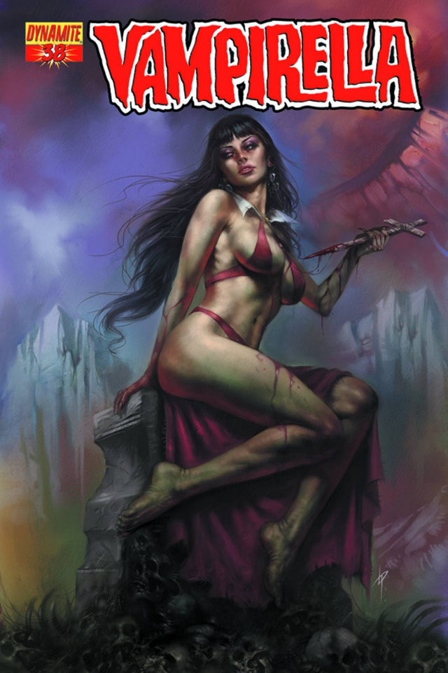 Vampirella #38 (Parrillo Cover)