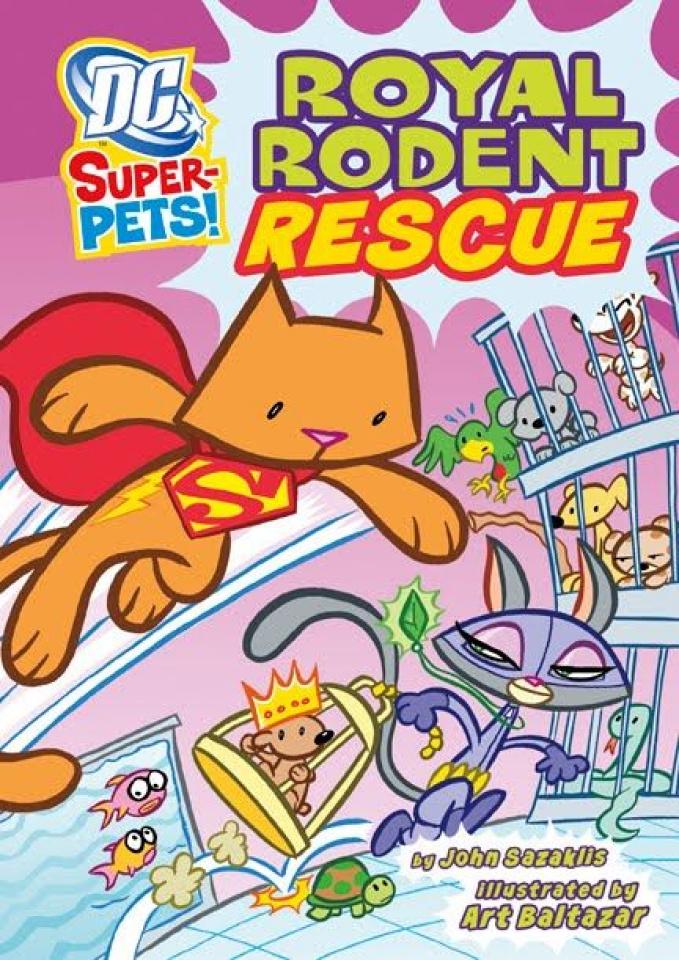 DC Super-Pets: Royal Rodent Rescue