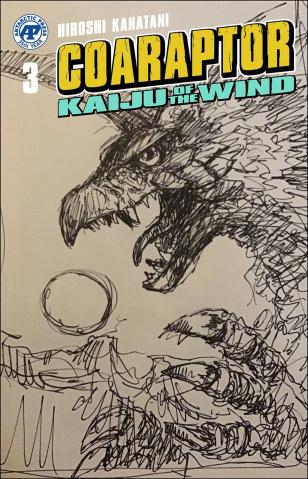 Coaraptor: Kaiju of the Wind (Bob Eggleton Cover)