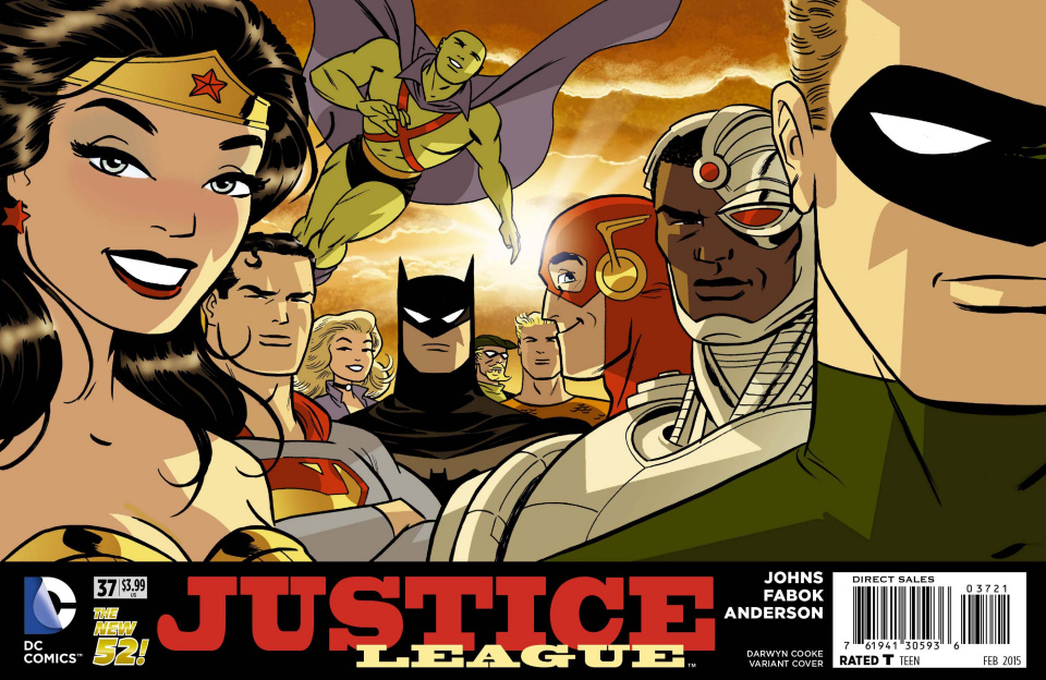 Justice League #37 (Darwyn Cooke Cover)