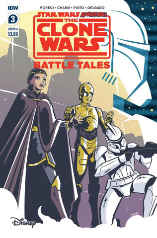 Star Wars Adventures: The Clone Wars #3 (Charm Cover)