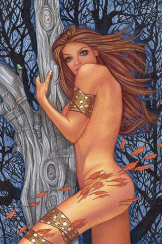 Cavewoman: Apex Predator (Valentina Cover)
