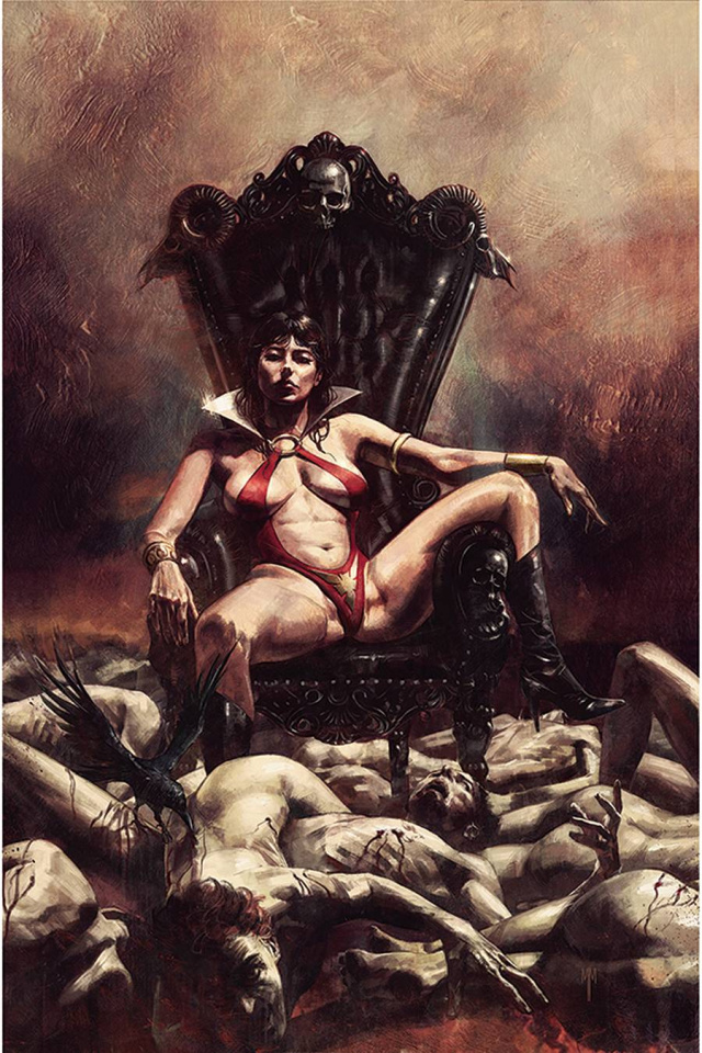 Vampirella #18 (Mastrazzo Virgin Cover)