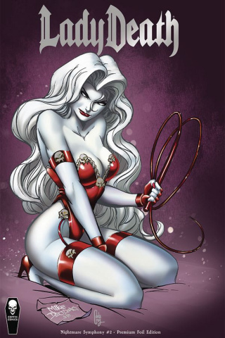Lady Death: Nightmare Symphony #2 (Deodato Jr Premium Cover)