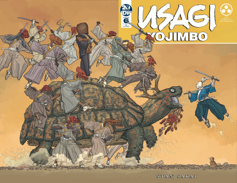 Usagi Yojimbo #6 (25 Copy Darrow Cover)