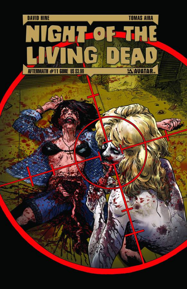 Night of the Living Dead: Aftermath #11 (Gore Cover)