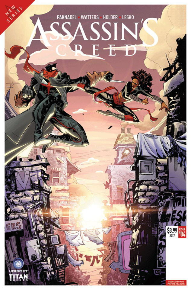 Assassin's Creed: Uprising #4 (Holder Cover)