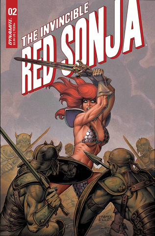 The Invincible Red Sonja #2 (Linsner Cover)