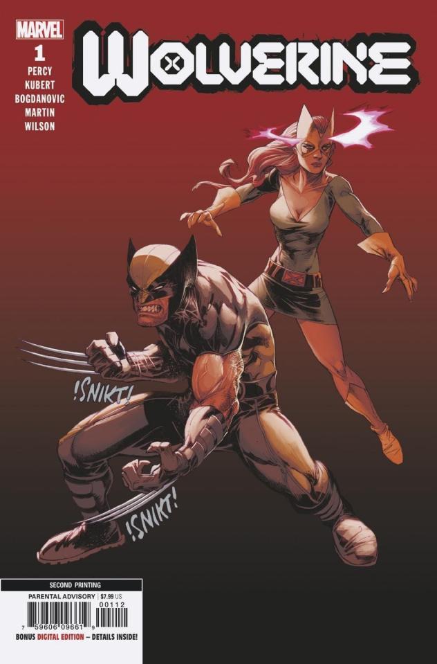 Wolverine #1 (2nd Printing)