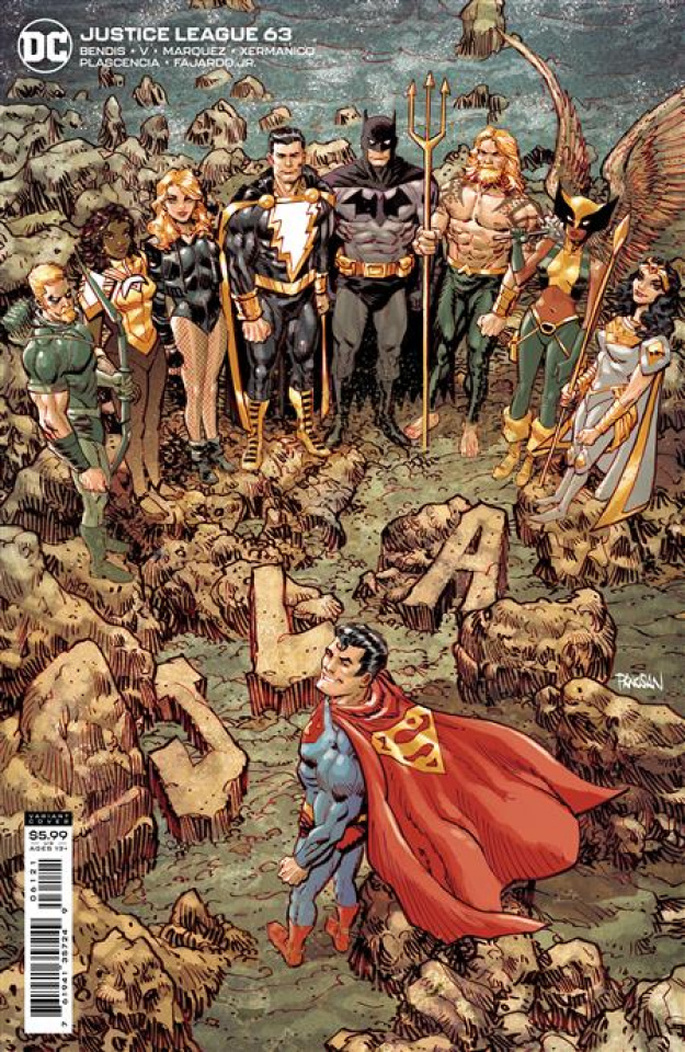 Justice League #63 (Dan Panosian Card Stock Cover)