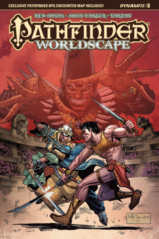 Pathfinder: Worldscape #3 (Brown Cover)