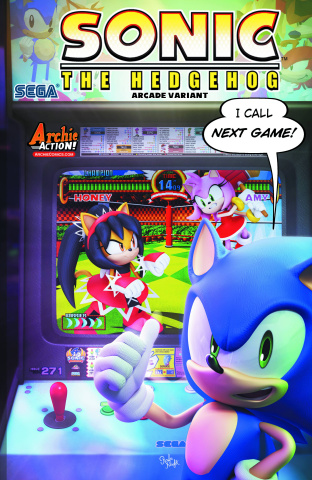 Sonic the Hedgehog #271 (Arcade Cover)