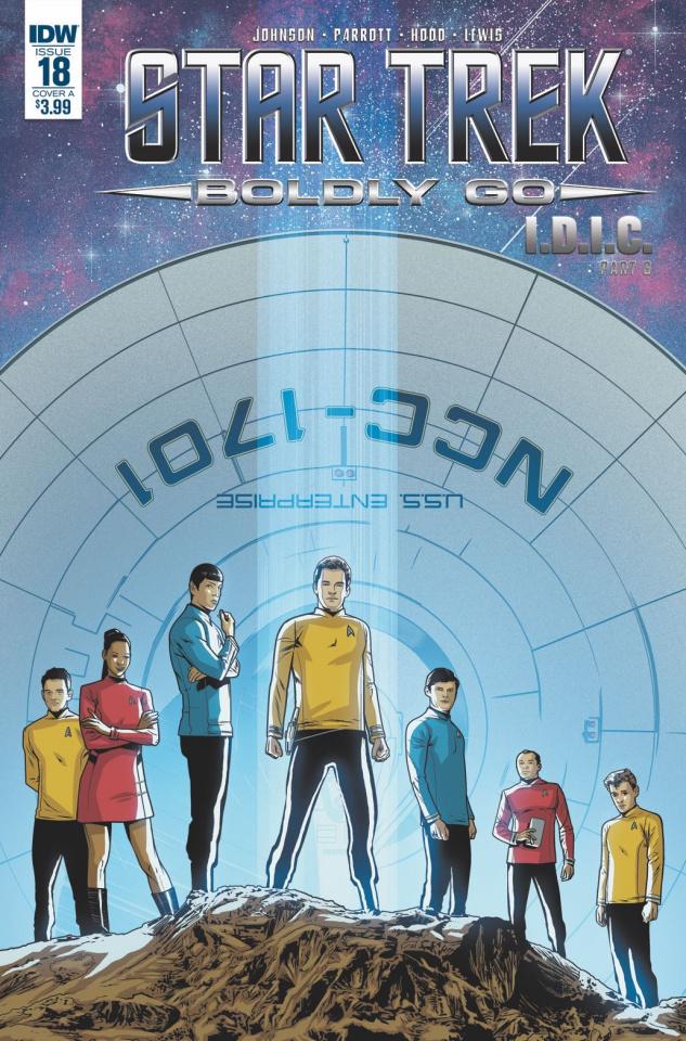 Star Trek: Boldly Go #18 (Hood Cover)
