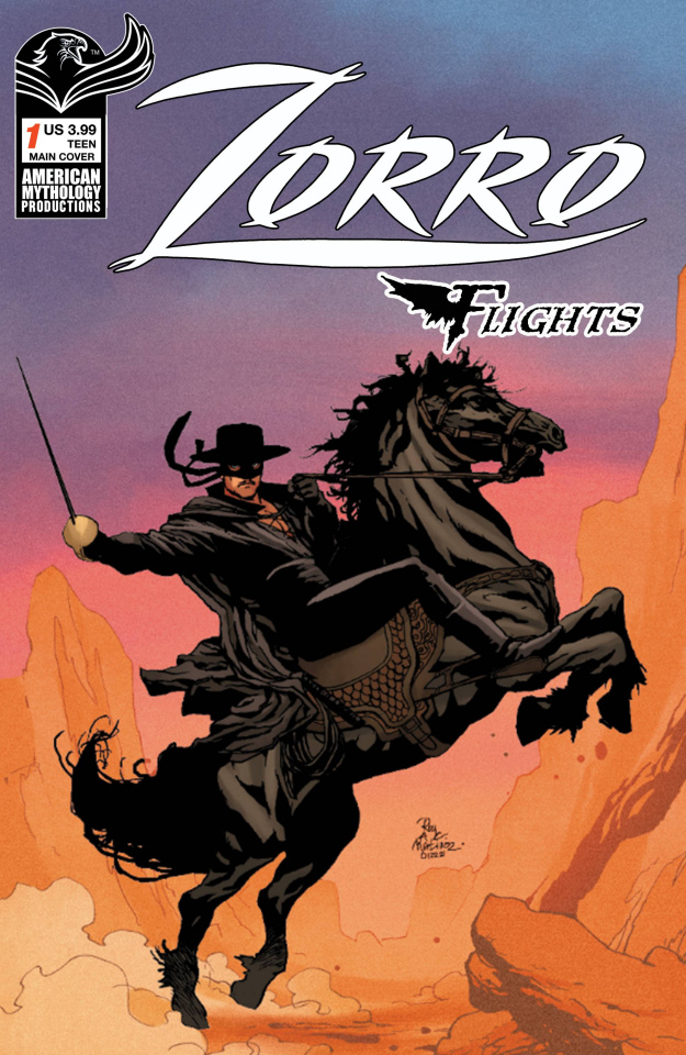 Zorro Flights #1 (Martinez Cover)