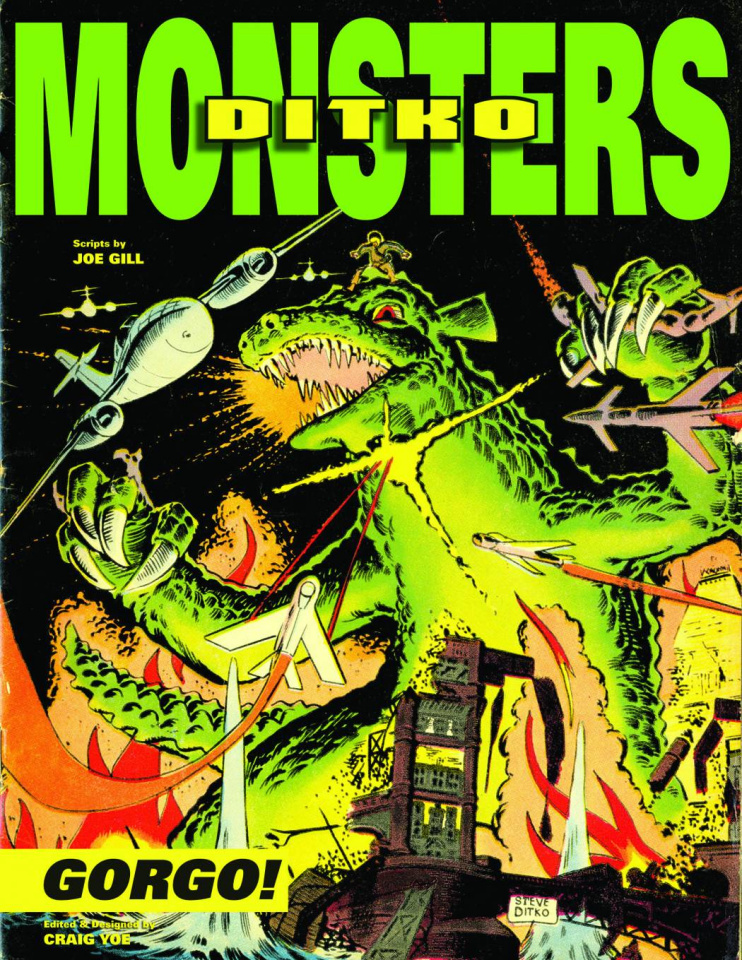 Steve Ditko: Monsters Vol. 1: Gorgo
