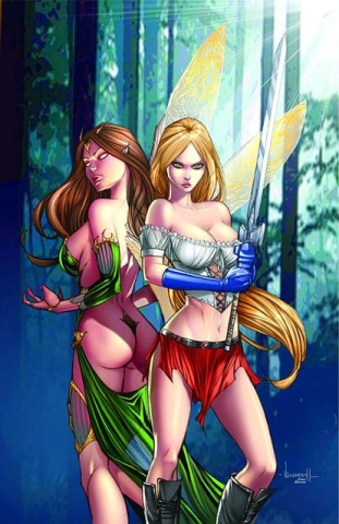 Grimm Fairy Tales Presents: Neverland - Hook #4 (Garza Cover)