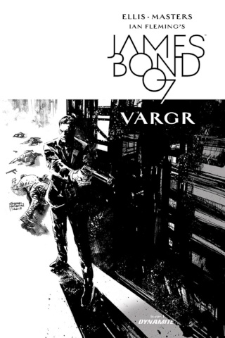 James Bond #1 (Hardman B&W Limited Cover)
