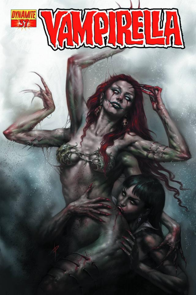 Vampirella #37 (Parrillo Cover)