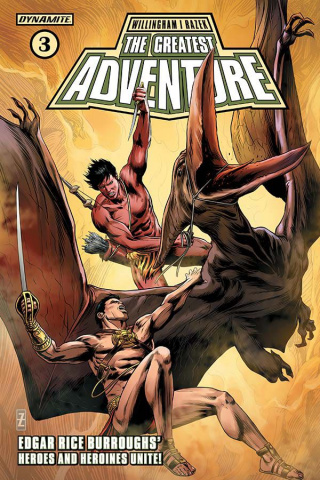 The Greatest Adventure #3 (Zircher Cover)