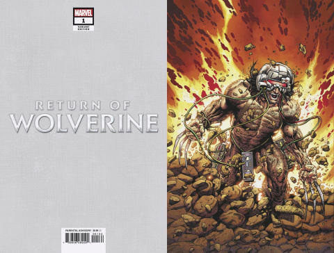 Return of Wolverine #1 (McNiven Weapon X Costume Virgin Cover)