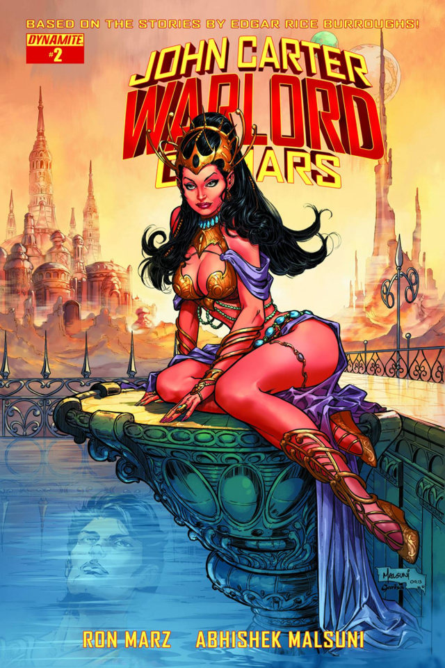John Carter: Warlord of Mars #2 (Subscription Cover)