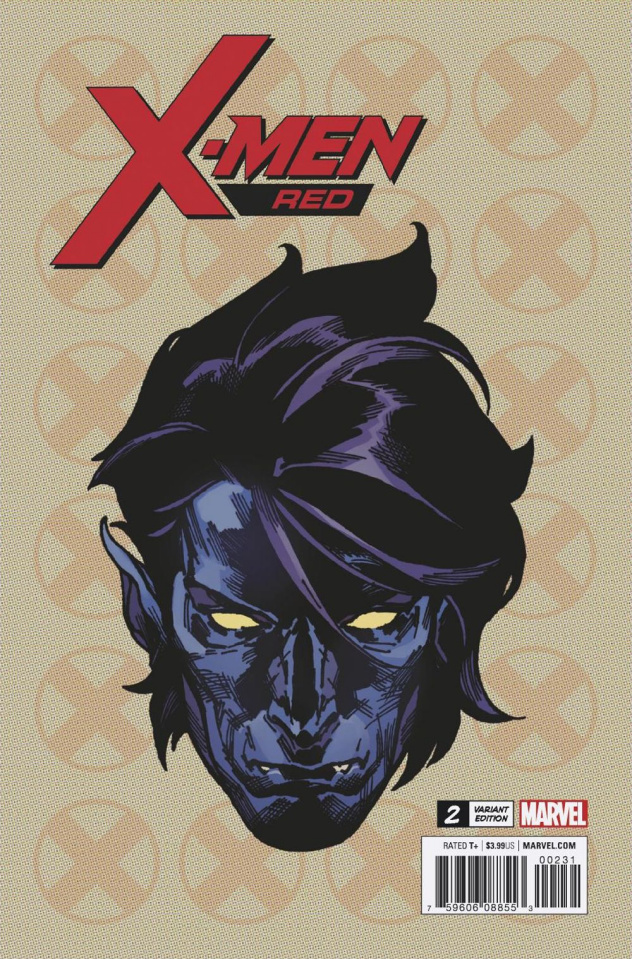 X-Men: Red #2 (Charest Headshot Cover)