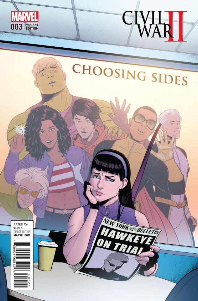 Civil War II: Choosing Sides #3 (McKelvie Cover)