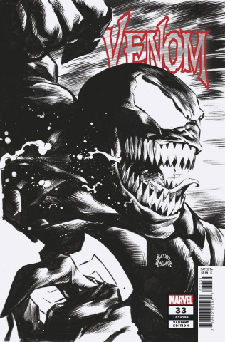 Venom #33 (Stegman Sketch Cover)