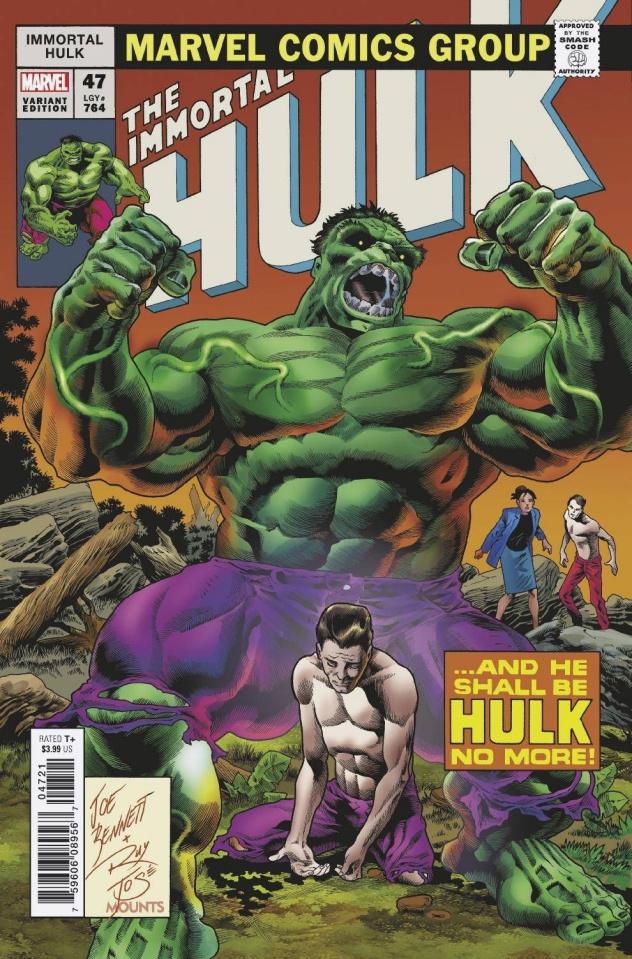 The Immortal Hulk #47 (Bennett Homage Cover)
